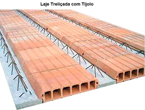Lajes treliçadas com tijolos de cerâmica | Fabricação de Lajes RJ